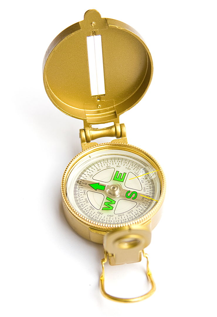 Picture Of Gold Compass