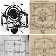 Picture Of Gyrocompass Gymnote 1889