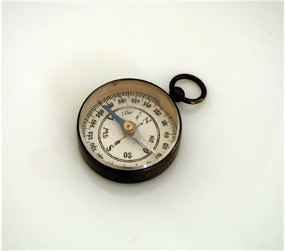 Picture Of Small Old Compass
